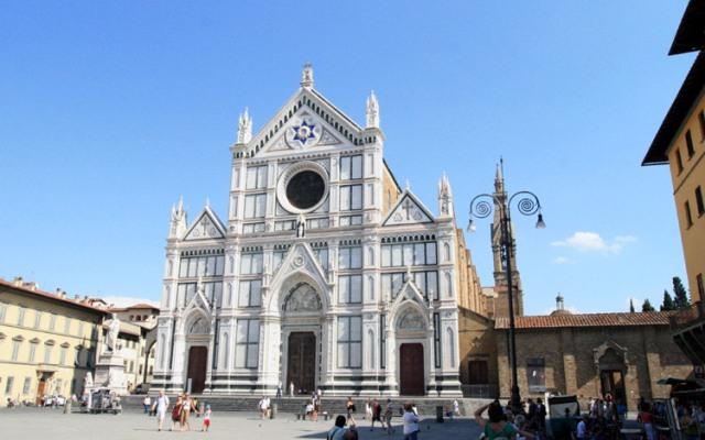"""Santa Croce – """"Italijos šlovės panteonas"""""""